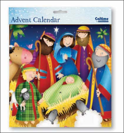 Advent Calendar - Away in a Manger