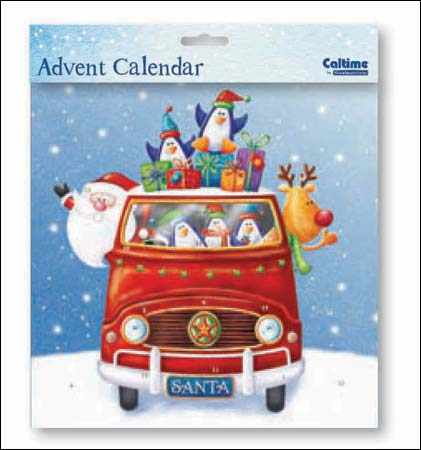 Advent Calendar - Santa's van