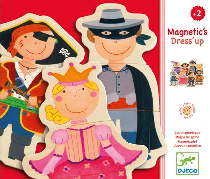Djeco Magnetic Dress Up Puzzle