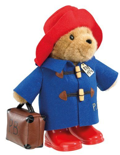 Large Paddington Bear with Suitcase