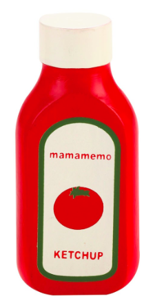 Mamamemo Wooden Play Food - Ketchup