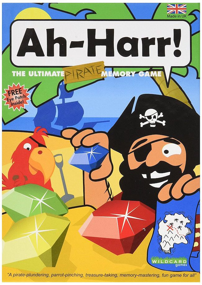 Ah-Harr - The Ultimate Pirate Memory Game by Wildcard Games