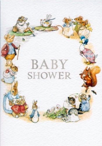 Beatrix Potter - Baby Shower Card