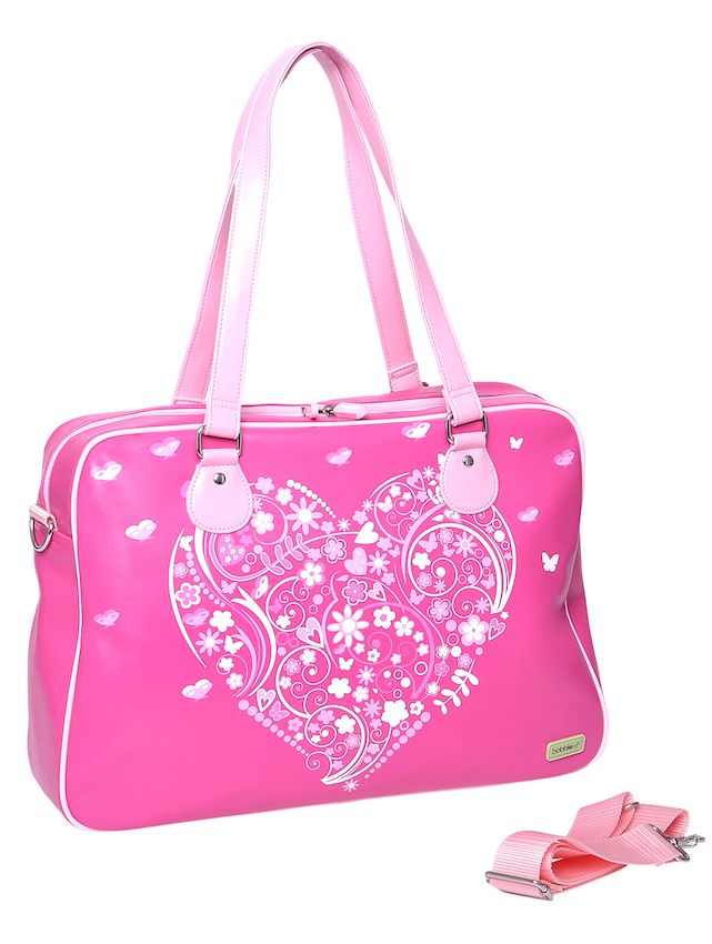 Bobbleart Overnight Bag - Heart