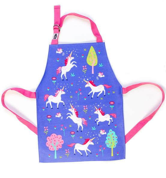 Child's Lulu L'unicorn Apron by ThreadBear
