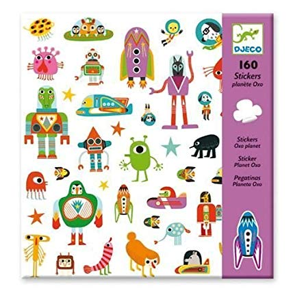 Djeco Planet Oxo - Stickers