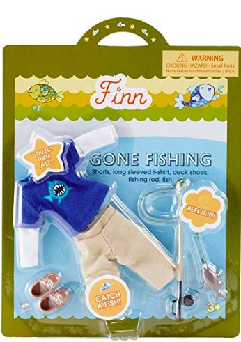 Finn Doll Accessory Set - Gone Fishing
