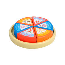 Mamamemo Wooden Play Food - Round Cheese